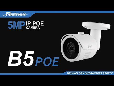 Kamera IP PoE ZINTRONIC B5 WL 5MP 3.6mm