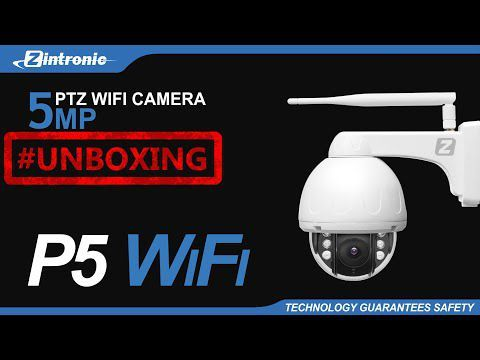 Kamera obrotowa Zintronic P5 Dark IP WiFi 2.8mm 5MP IR 40M